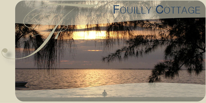 Sunset at Fouilly Cottage - Pointe d'Esny - Mauritius